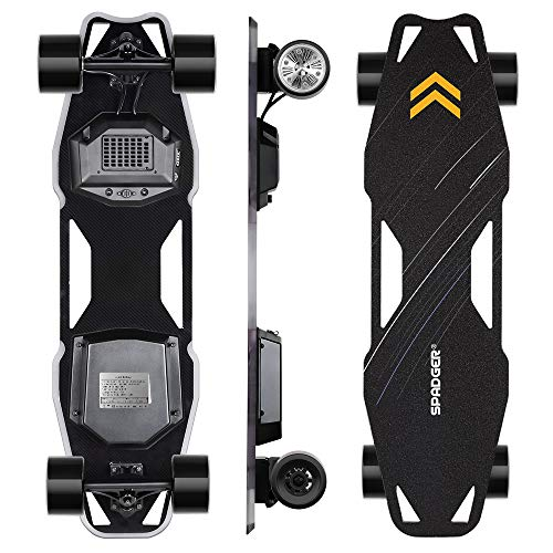 Spadger Electric Skateboard, D5X Plus 35'' Portable Longboard