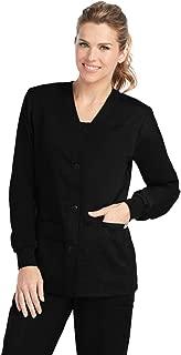 Grey's Anatomy Women's 4435 Junior Fit 4 Pocket Sport Button Front Scrub Jacket