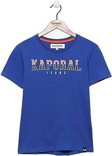 Kaporal - T-Shirt à Manches Courtes, Coupe Droite - Bonar - Garçon