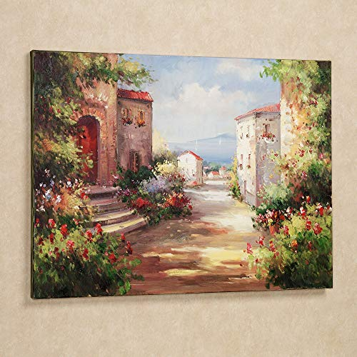 Touch of Class Tuscan Summer Canvas Wall Art Multi Jewel