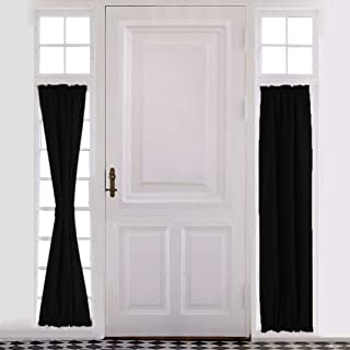 Aquazolax Sliding Glass Door Curtain Panel - Thermal Insulated Blackout Curtains Rod Pocket Drapes 25