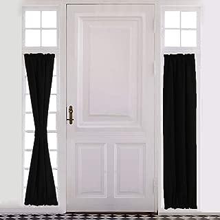 Best black front door with glass panels Reviews