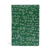 ブックカバー 文庫 a5 皮革 レザー 物理方程式 文庫本カバー ファイル 資料 収納入れ オフィス用品 読書 雑貨 プレゼント