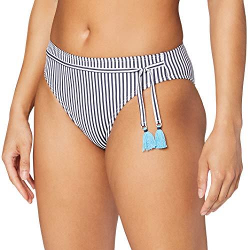 Esprit Clearwater Beach Classic Brief Braguita de Bikini, Azul (Navy 400), 38 (Talla del...