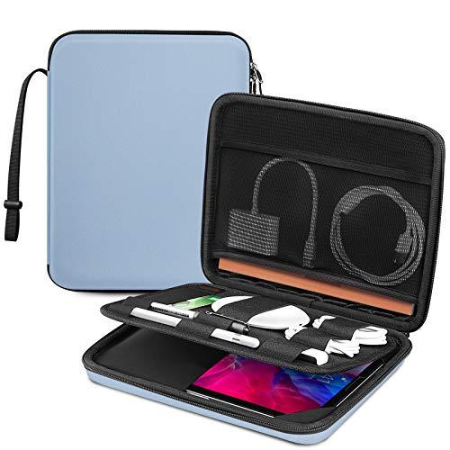 FINTIE Funda de Tablet 11', Portafolio Bolsa Organizado con Correa de Mano para iPad 10.2' 2020 2019/10.9' iPad Air 4/10.5' iPad Air 3/11' iPad Pro/iPad 9.7, Huawei T5/T3/M5, Surface Go 2,
