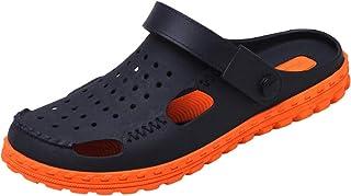 FDSVCSXV Summer Garden Clogs Lightweight Slip Sky Slipper Sandals Sandalias Piscina Piscina Antideslizante Hombres,Azul,44