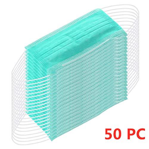 MaNMaNing Protección 3 Capas Transpirables con Elástico para Los Oídos Pack 50 unidades 20200713-MANING-K095 (50)