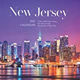 """New Jersey 2022 Calendar: From January 2022 to December 2022 - Square Mini Calendar 7x7"""" - Small Gorgeous Non-Glossy Paper"""