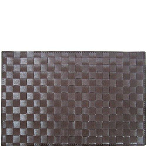 laroom 13355 – Place Table Chocolat, Couleur Chocolat