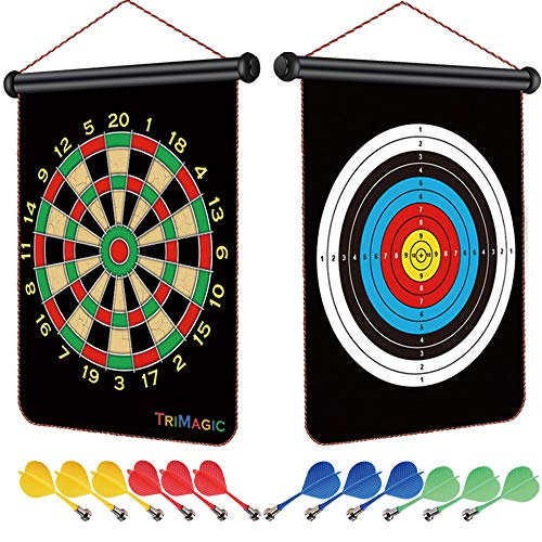 TriMagic Magnetic Dart Board - Best Birthday or Christmas Toy Gift for...