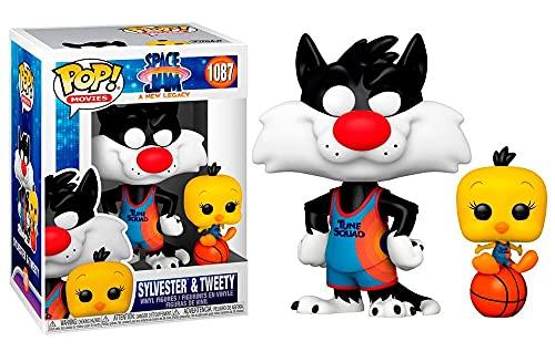 Softeam- 56228_1 Sylvester & Tweety Figura Coleccionable, Multicolor