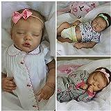 LXTIN Kit de muñecas Reborn de 17 Pulgadas premie Baby Size Twin B Partes de muñecas inacabadas de Color Fresco de Tacto Suave Real Realista
