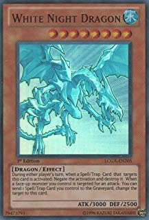 Yu-Gi-Oh! - White Night Dragon (LCGX-EN205) - Legendary Collection 2 - Unlimited Edition - Ultra Rare