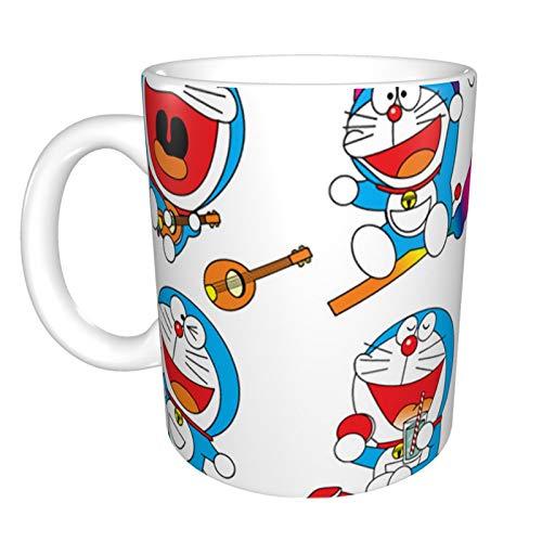 Doraemon - Taza de café (330 ml, 325 ml), diseño de taza de café