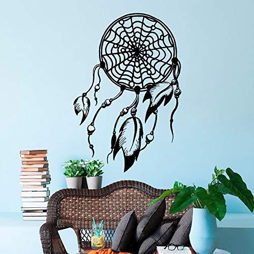 Calcomanía de pared calcomanía ropa de cama bohemia artista de la sala de estar decoración residencial papel tapiz extraíble pegatina otro cplor 42x62cm