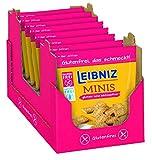 Leibniz Minis Gluten- und Laktosefrei, 8er Pack — Mini-Kekse in der Großpackung — Keks ohne Gluten und...