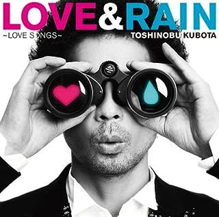 LOVE&RAIN~LOVE SONGS~ 初回生産限定盤 付