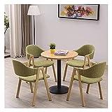 Cocina Mesa de ocio Mesa de comedor Conjunto de cocina para cocina o decoración del hotel, mesa de casa y silla Combinación de oficina Mesas de ocio y sillas Balcón Balcón Cocina Sala de estar Mesa de