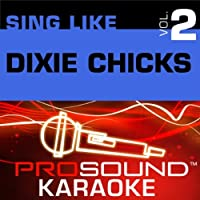 Sing Like Dixie Chicks Vol. 2 [KARAOKE]