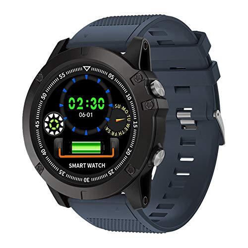 Lixada Outdoor Digital Smart Sportuhr Herzfrequenz-Blutdruckmessgerät Armbanduhr Fitness Activitity Tracker Uhr für Männer IP68 Wasserdicht