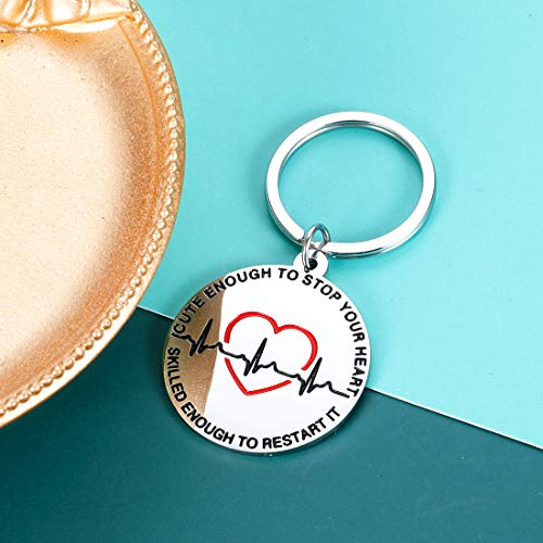 Product Image 3: Nurse Gifts Nurse Keychain for Women Graduation Nursing Student Gifts for Female Inspirational Nurses Day Gifts for Future Nurse Her Birthday Valentines Christmas Appreciation Gifts for Nurse Friend
