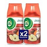 Air Wick Freshmatic Ricarica Spray Automatico, Mela e Cannella, 2 Confezioni da 250 ml