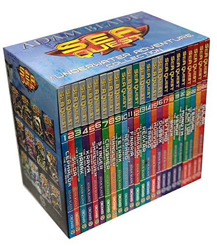 Adam Blade Sea Quest The Underwater Adventure Collection 24 Books Set