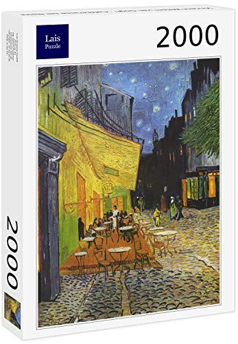 Lais Puzzle Vincent Willem Van Gogh - Terrazza del caffè di Notte 2000 Pezzi