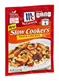 McCormick Slow Cookers Fiesta Chicken Seasoning Mix 1.5 ounce