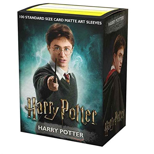 Dragon Shield Matte Art Harry Potter Series Harry Potter Standard Size 100 ct Card Sleeves Individual Pack image