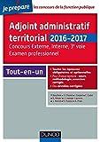 Adjoint administratif territorial - Concours et Examen professionel - 2e éd. Tout-en-un