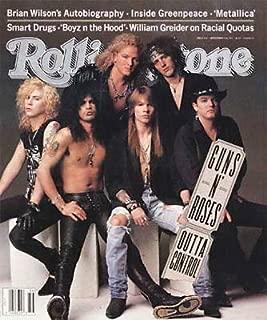 Rolling Stone Magazine, Issue 612, September 1991, Guns n Roses Cover