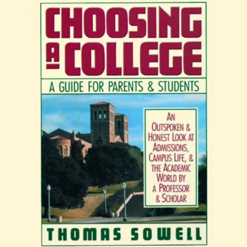 Choosing a College audiobook cover art