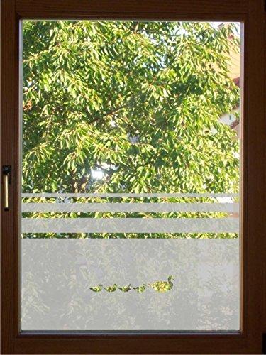 rs-interhandel® 654 / 65cm hoch Sichtschutz Fensterfolie Glasdekor Sichtschutzfolie Window blickdicht wasserfest selbstklebende Folie