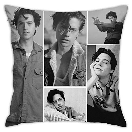 Riverdale Jughead Jones Kissenbezug, quadratisch, für Sofa, Bett, Wohnzimmer, Couch, Stuhl, Heimdekoration, 45,7 cm