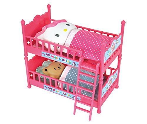Litera doble Hello Kitty con cojines, futones y personajes (importación de Japón)