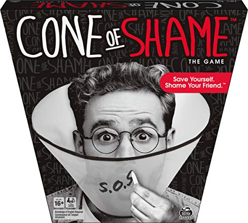 Cone of Shame, Guessing Party Game, for Adults and Teens Ages 16 and up