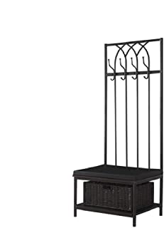 Coaster 900599-CO Hall Tree, In Black