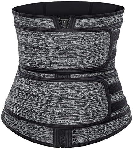 HOPLYNN Neoprene Sweat Waist Trainer Corset Trimmer Belt for Women Weight Loss Waist Cincher product image