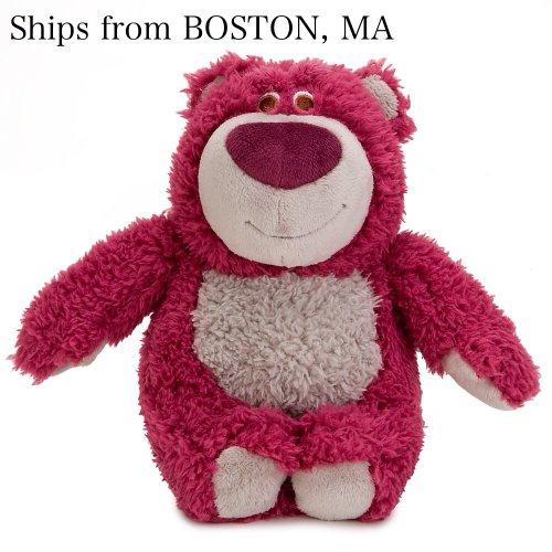 Disney Lotso Pixar Love Huggin Bear Plush 6 Toy Story 3 Smells Like Strawberry - Stuffed Animal Disney Store - Holidays Gifts Valentine by Disney
