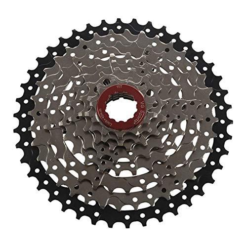 QXYOGO Cassettes Y PiñOnes 8 Velocidad de Casete de Bicicletas Rueda Libre Piñón de Bicicletas de montaña Rueda Libre Ultraligero Rueda Libre (Color : Black)