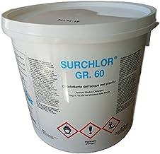 Surchlor 56 - Cloro en polvo para piscina, 5 kg