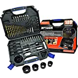 bosch products - 109 piece drill and drive accessory set,drill bits,drill bit set,drill set,drilling driving kit