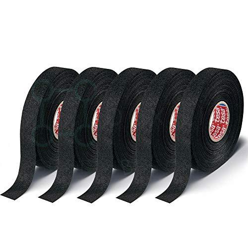 1,19 EUR//m 100008 fix-o-moll Gewebeband schwarz 5m x 19mm