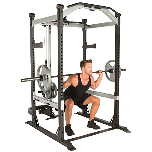 Product Image 9: Fitness Reality X-Class Light Commercial High Capacity Olympic Power Cage