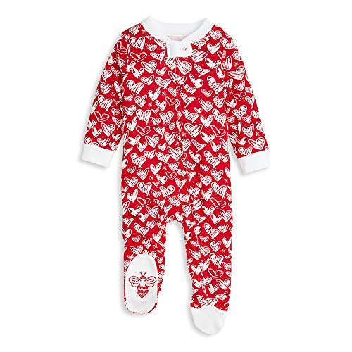 Burt's Bees Baby Baby Sleep & Play, Organic Pajamas, Heartbeat
