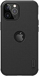 Nillkin Super Frosted Shield Pro Magnetic Matte Cover For Apple iPhone 12 Pro Max With Logo cutout - Black