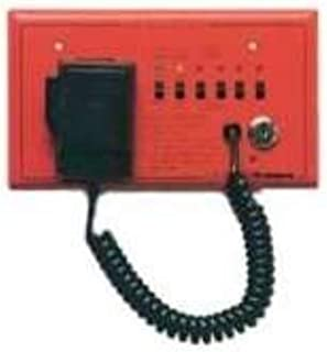 Wheelock - Sprm - Product - Sp40s Remote Blk Mic, Red Plate