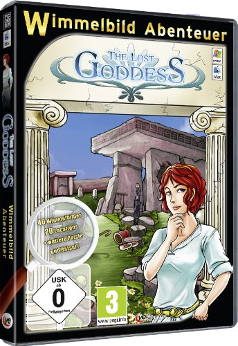 The lost Goddess : Wimmelbild-Abenteuer [import allemand]