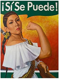 "One 11x14/"" Poster Sí Se Puede Inspirational Rosita by Robert Valadez"